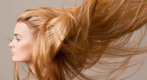 woman with long hair no split ends