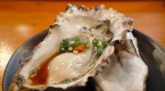 iron rich foods like oysters